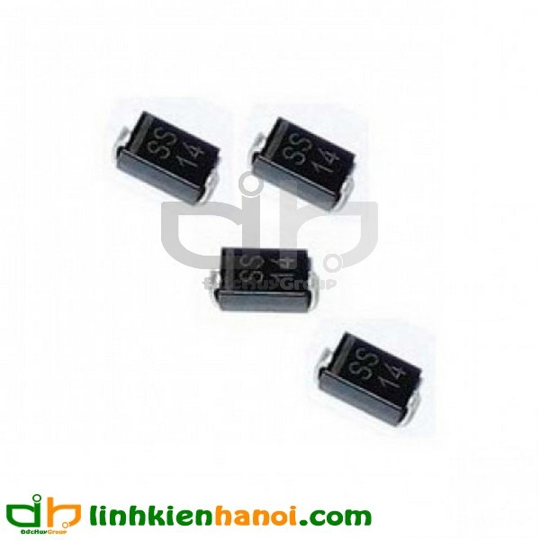 Diode 1N5819 SS14 1A/40V SMD