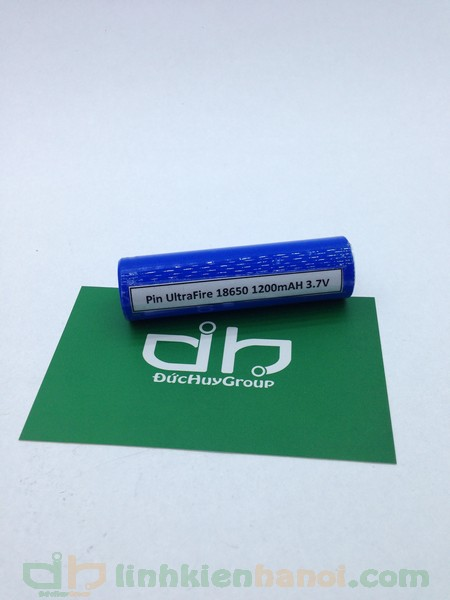 Pin UltraFire 18650 3.7V - 1200mAh